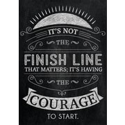 """13"""" x 19"""" It's not the finish line Inspire U Poster (CTP6746)"""