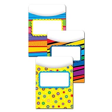 Creative Teaching Press Poppin Patterns Jumbo Library Pockets, Grades K-6 (CTP6776)