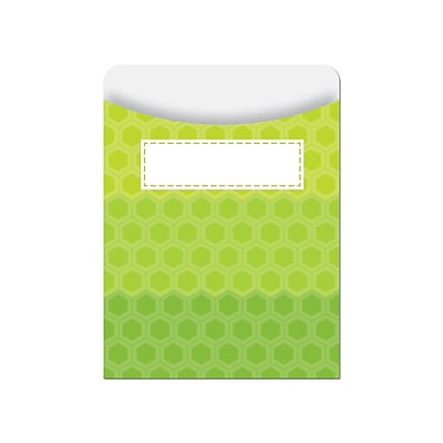 Creative Teaching Press Poppin Patterns Jumbo Library Pockets, Grades K-6 (CTP6786)
