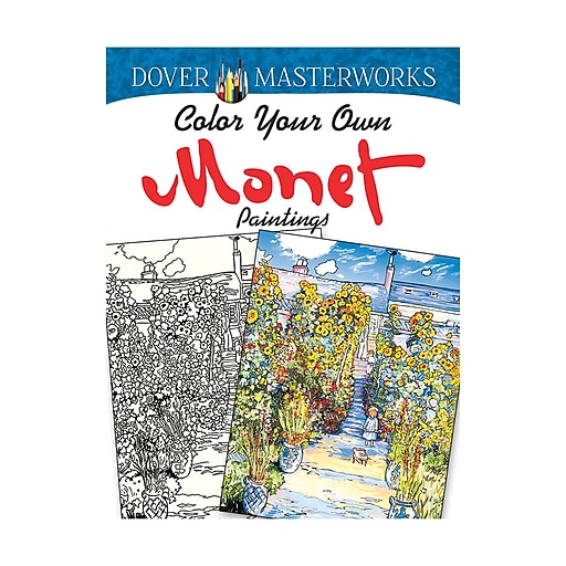 Dover Masterworks: Color Your Own Monet Paintings Paperback (DP-779459)