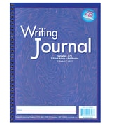 "Writing Journal, Liquid Color, 3/8"" ruling, Grades 3-4, Dark Blue 10.5"" x 8.25"" (ELP0603)"