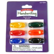 Zaner-Bloser® Pencil Grips Assorted Color, Set of 6 (ELP9236)