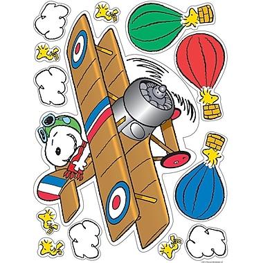 Eureka Window Clings Peanuts® Flying Ace, Multicolour, 12