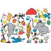 "Dr. Seuss If I Ran the Circus 18.5"" x 13"" 2-sided Deco Kit, Multicolor (EU-840158)"