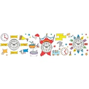 "Dr. Seuss If I Ran the Circus EU-847156 24"" x 17"" Telling Time Multicolor"