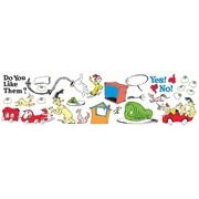 "Eureka Dr. Seuss 24"" x 17"" Green Eggs and Ham Bulletin Board Set (EU-847223)"