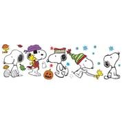 "Eureka Peanuts 24"" x 17"" Fall & Winter Snoopy Poses Bulletin Board Set (EU-847602)"