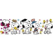"Eureka Peanuts 24.75"" x 17"" Spring Summer Snoopy Poses Bulletin Board Set (EU-847684)"