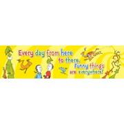 "EUREKA EU-849444 45"" x 12"" Dr. Seuss One Fish Two Fish, Multicolor"