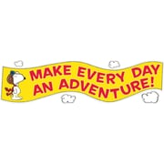 "EUREKA EU-849743 45"" x 12"" Peanuts Flying Ace Motivational Banner, Multicolor"