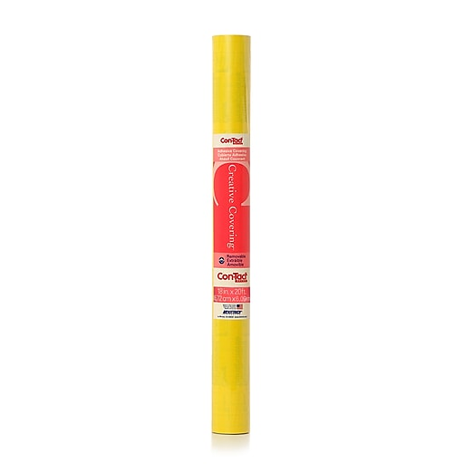 """Contact 18"""" x 20 ft. Yellow, Adhesive Roll (KIT20FC9AH22)"""