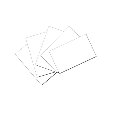 Pacon Index Cards, 3