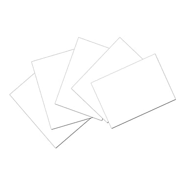 Pacon Index Cards, 4