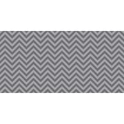 "Fadeless 48"" x 50' Gray Chevron, Design Roll (PAC55835)"