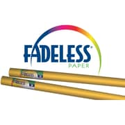 "PACON CORPORATION Fadeless 48"" x 12' Paper Rolls, Sunset Gold (PAC57888)"