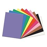 "SunWork® Construction Paper, 9""x12"", Assorted 100 ct. (PAC6504)"