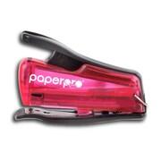 "PaperPro® Nano® Mini Stapler, 1/4"" Staples, Translucent Pink"