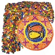 Roylco Double Color Mosaic Squares, 10,000/Pack (R-15630)