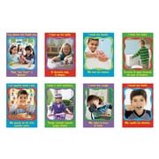"""13?"""" by 19"""" Healthy Habits Look & Learn® Poster Pack (T-49902)"""