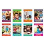 """13?"""" by 19"""" Getting Along Look & Learn® Poster Pack (T-49903)"""