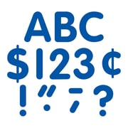 """4"""" Classic Font Letters Uppercase Pack, Blue (TCR5377)"""