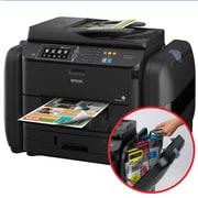 Epson - Imprimante jet d'encre tout-en-un sans fil WorkForce Pro WF-R4640 EcoTank avec numériseur, copieur et télécopieur