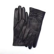 Royce Leather - Gants tactiles en peau de mouton pour dames, noir, moyen