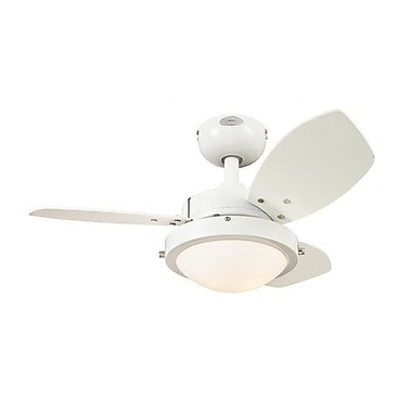 Westinghouse Lighting 30'' Wengue 3-Blade Fan