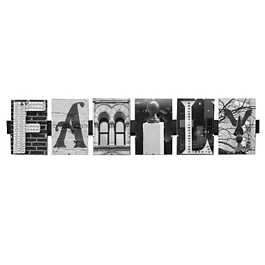 LanguageArt Family by Greg and Dilynn Puckett Graphic Art in Black and White