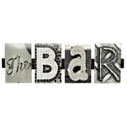 LanguageArt The Bar by Greg and Dilynn Puckett Textual Art