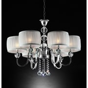 OK Lighting Pure Essence 6-Light Drum Chandelier