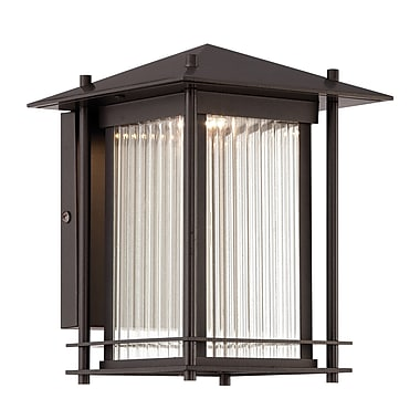 Designers Fountain Hadley 1-Light Outdoor Wall Lantern; 7.5'' H x 7'' W x 8.88'' D