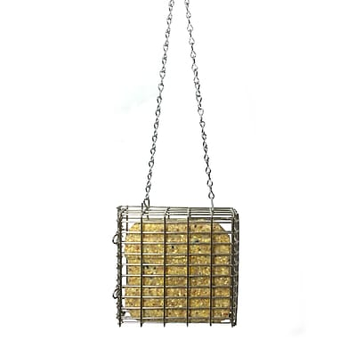 Droll Yankees Stainless Steel Suet Bird Feeder (WYF078277868960) photo
