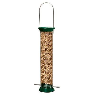 Droll Yankees New Generation Peanut Tube Bird Feeder; Green WYF078277868968