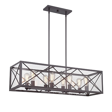 Designers Fountain High Line 8-Light Kitchen Island Pendant