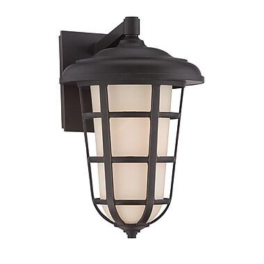 Designers Fountain Triton 1-Light Outdoor Wall Lantern; 13.5'' H x 9'' W x 10'' D