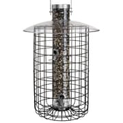 Droll Yankees B7 Domed Caged Sunflower Tube Bird Feeder