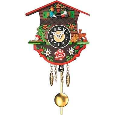 Alexander Taron Engstler Battery Operated Wall Clock w/ Music/Chimes