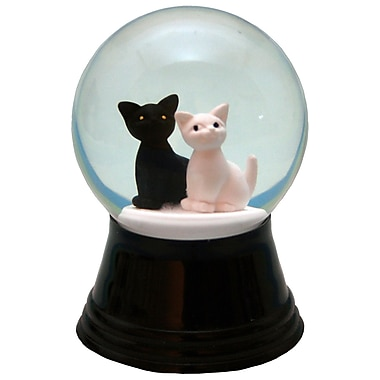 Alexander Taron Perzy Small 2 Cats Cloches and Water Globes