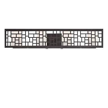 Designers Fountain Trellis 4-Light Bath Bar; Oil Rubbed Bronze