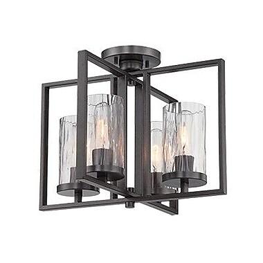 Designers Fountain Elements 4-Light Semi Flush Mount