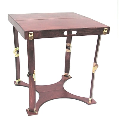 Spiderlegs Homework Writing Desk; Red Mahogany