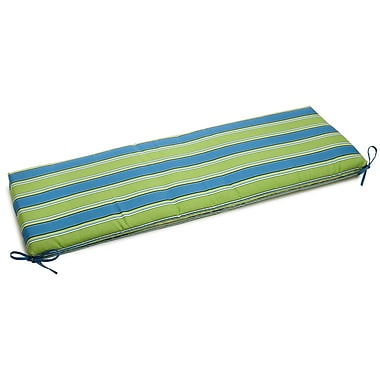 Blazing Needles Passion Outdoor Bench Cushion