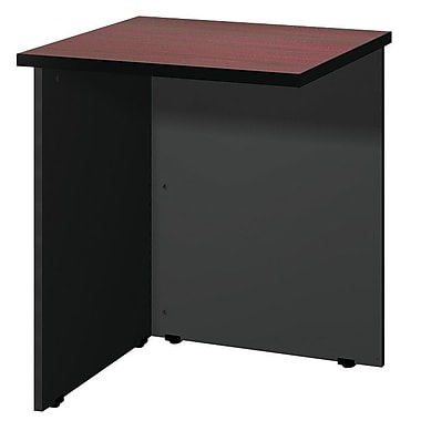 Ironwood Modular 28.38'' H x 23.75'' W Desk Bridge; Black Granite / Black