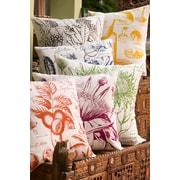 Koko Company Uruli Walnut Cotton Throw Pillow