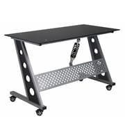 Pit Stop Furniture Racing Style Writing Desk; Black