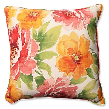 Pillow Perfect Muree Primrose Indoor/Outdoor Floor Pillow