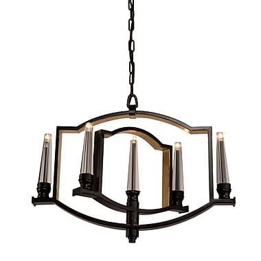 Artcraft Lighting Perceptions 5-Light Candle-Style Chandelier; Oil Rubbed Bronze