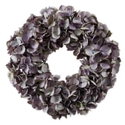 Jane Seymour Botanicals Wreath Dried Hydrangea; Lavender / Purple