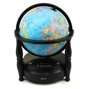 Akai GL703-BT Bluetooth Globe Speaker, Blue